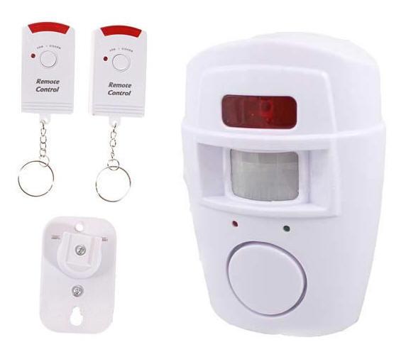 Allarme antifurto wireless con sensore di movimento + sirena  Antifurto allarme senza fili wifi ...