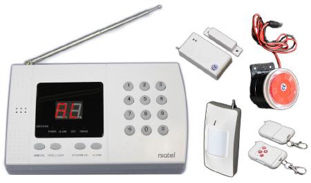 Antifurto allarme casa wireless kit allarme antifurto - Centralina allarme casa ...