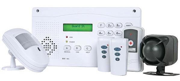 Antifurto wireless 12 zone antifurti senza fili a - Antifurti per casa ...