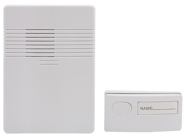 Campanello senza fili campanello wireless per esterno a - Campanello senza fili da esterno ...