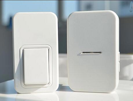 Campanello wireless con pulsante senza batteria - Campanello senza fili da esterno ...