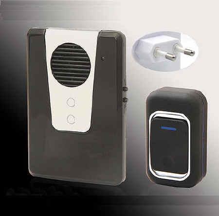 Campanello wireless 220 volt impermeabile campanello - Campanello casa senza fili ...