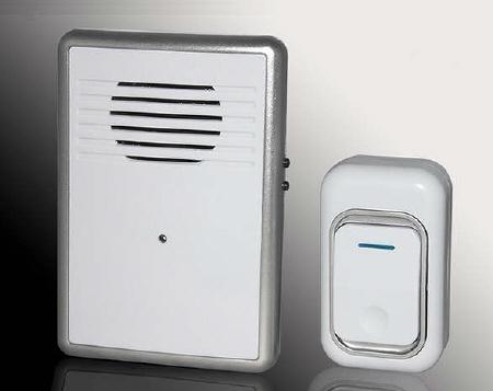 Campanello wireless per esterno a batteria campanello - Campanello casa senza fili ...