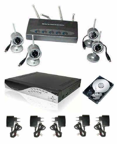 Tecnica prezzi: Telecamere videosorveglianza senza fili