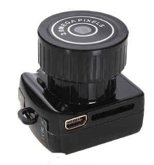 Microtelecamera alta definizione videoregistratore sd a for Definizione camera