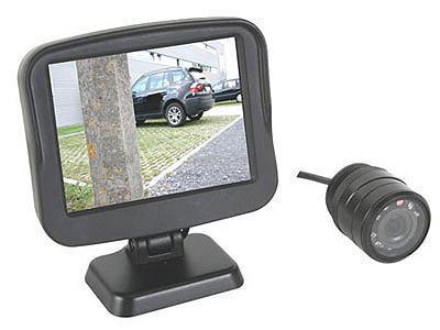 Telecamera retromarcia parcheggio per auto kit visione for Kit per posto auto coperto