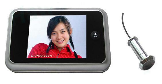 Telecamera spioncino porta monitor lcd microtelecamera - Spioncino porta con telecamera ...