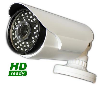 Telecamera di sicurezza HD con infrarossi e zoom  Telecamera HD alta risoluzione portata ...