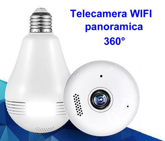 Telecamera Wifi Nascosta In Lampadina Microtelecamera Wifi