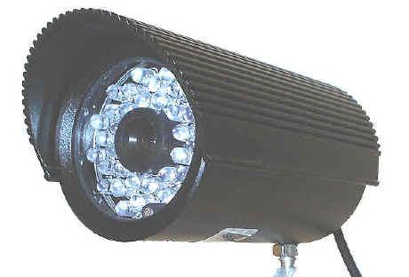 Telecamere infrarossi a colori alta definizione ccd per for Definizione camera